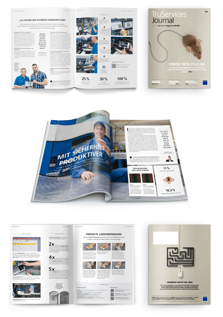 Trumpf-Services-Truservices-Journal-Kundenmagazin