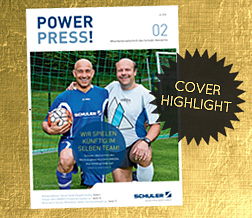 Cover-Highlight: Schuler PowerPress #02