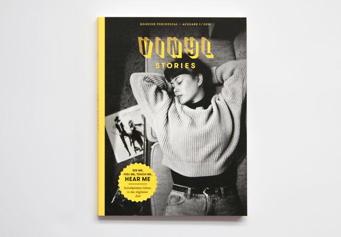 Titelseite Vinyl Stories