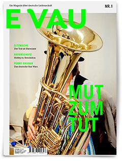 EVAU - das Magazin über Verein und Ehrenamt Cover