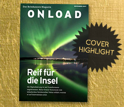 Cover-Highlight: ONLOAD 2/17 der Reinhausen-Gruppe