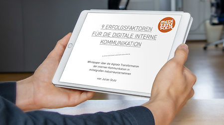 Whitepaper: 9 Erfolgsfaktoren für die digitale interne Kommunikation