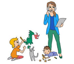 7 Tipps für Homeoffice mit Kindern
