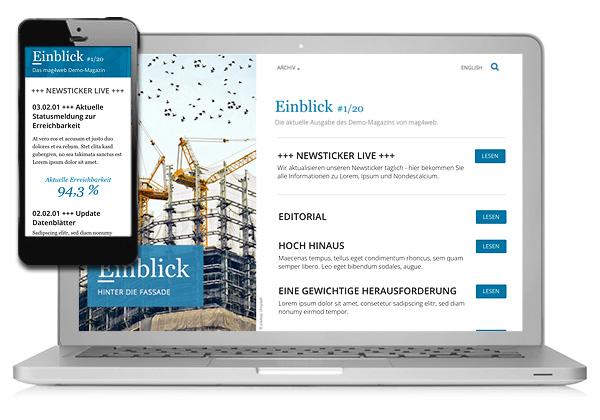 Unser Onlinemagazin Tool mag4web hat jetzt auch einen Newsticker.
